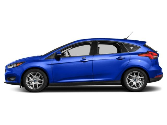 Blue Metallic 2018 Ford Focus Pictures Focus SEL Hatch photos side view