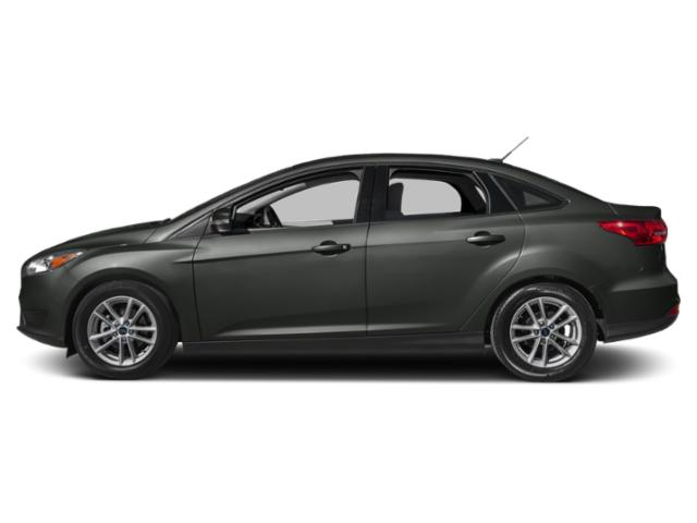 Magnetic Metallic 2018 Ford Focus Pictures Focus Sedan 4D S I4 photos side view