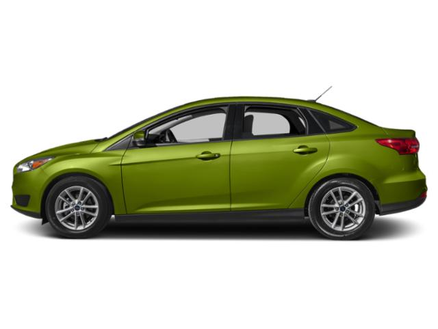 Outrageous Green Metallic Tinted Clearcoat 2018 Ford Focus Pictures Focus SEL Sedan photos side view