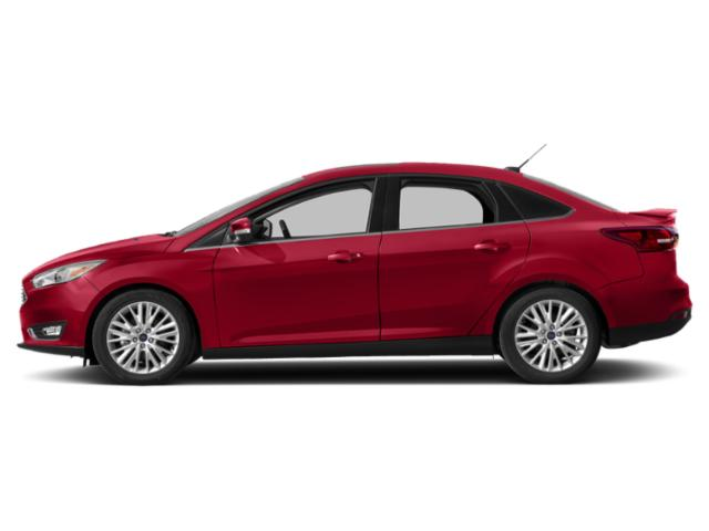 Hot Pepper Red Metallic Tinted Clearcoat 2018 Ford Focus Pictures Focus Titanium Sedan photos side view