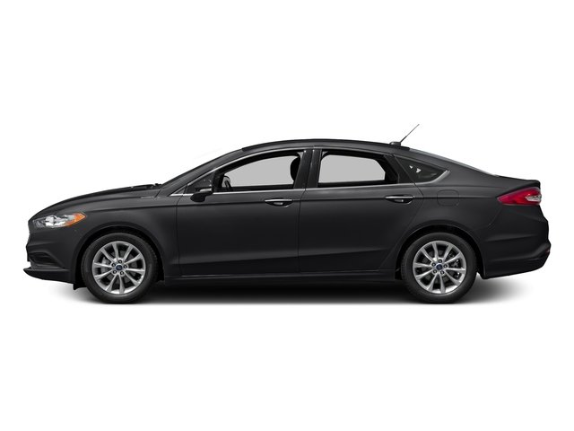 Shadow Black 2018 Ford Fusion Pictures Fusion SE FWD photos side view