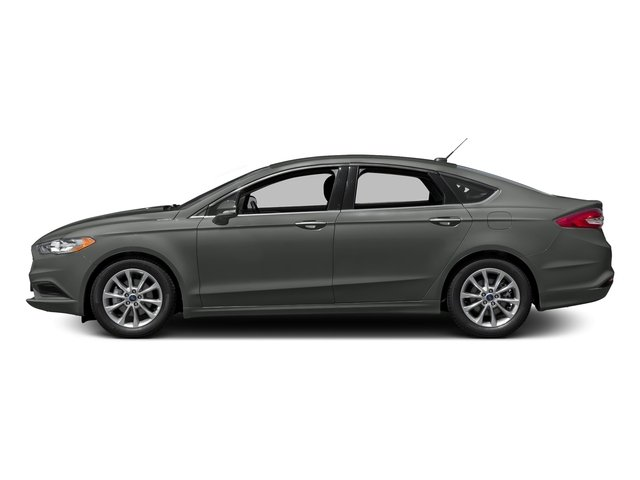 Magnetic Metallic 2018 Ford Fusion Pictures Fusion SE FWD photos side view