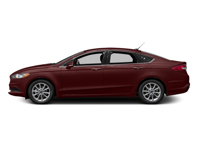 Burgundy Velvet Metallic Tinted Clearcoat 2018 Ford Fusion Pictures Fusion SE FWD photos side view