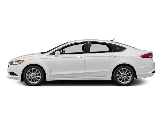 Oxford White 2018 Ford Fusion Pictures Se Fwd Photos Side View