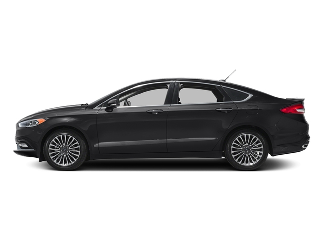 Shadow Black 2018 Ford Fusion Pictures Fusion Titanium AWD photos side view