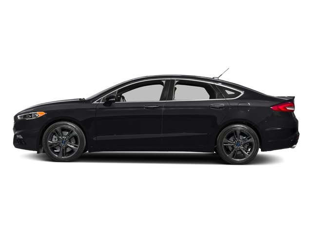 Shadow Black 2018 Ford Fusion Pictures Fusion Sport AWD photos side view