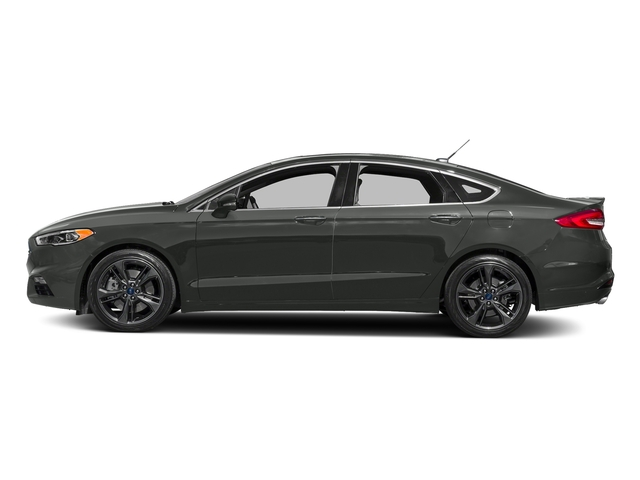 Magnetic Metallic 2018 Ford Fusion Pictures Fusion Sport AWD photos side view