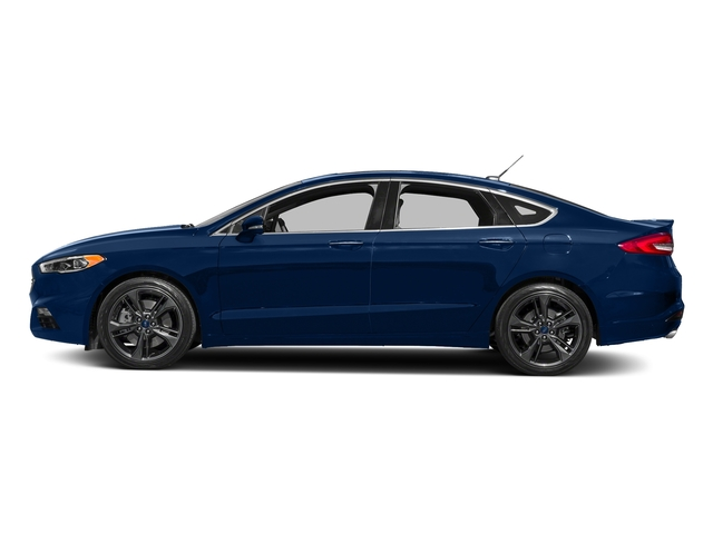 Lightning Blue 2018 Ford Fusion Pictures Fusion Sport AWD photos side view