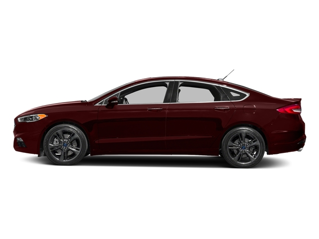 Burgundy Velvet Metallic Tinted Clearcoat 2018 Ford Fusion Pictures Fusion Sport AWD photos side view