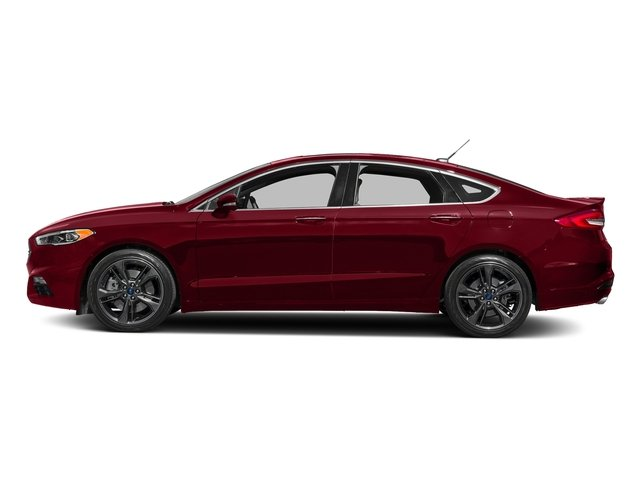 Ruby Red Metallic Tinted Clearcoat 2018 Ford Fusion Pictures Fusion Sport AWD photos side view