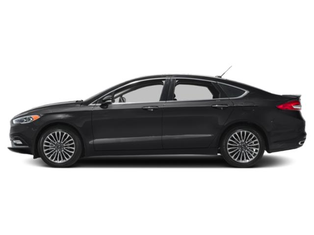 Shadow Black 2018 Ford Fusion Pictures Fusion Titanium FWD photos side view