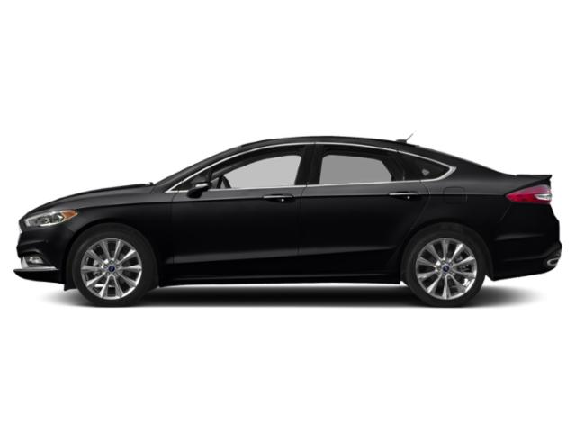 Shadow Black 2018 Ford Fusion Pictures Fusion Platinum AWD photos side view