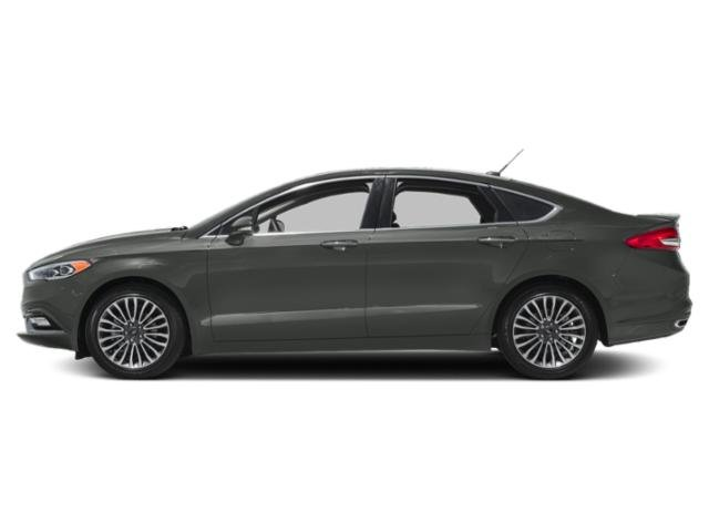 Magnetic Metallic 2018 Ford Fusion Pictures Fusion Titanium FWD photos side view