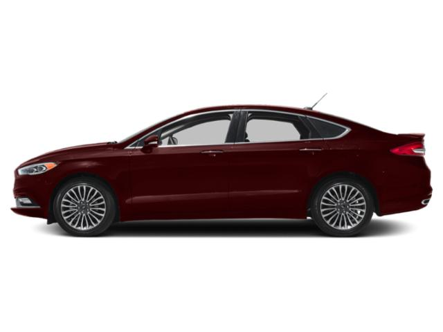 Burgundy Velvet Metallic Tinted Clearcoat 2018 Ford Fusion Pictures Fusion Titanium FWD photos side view