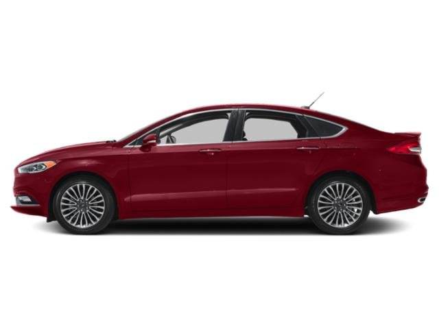 Ruby Red Metallic Tinted Clearcoat 2018 Ford Fusion Pictures Fusion Titanium FWD photos side view