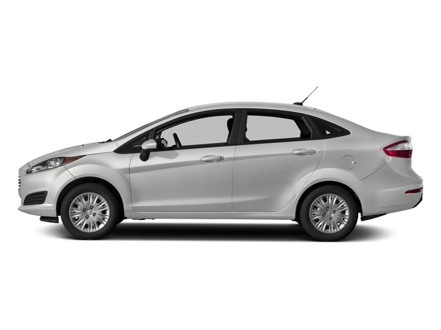 Oxford White 2018 Ford Fiesta Pictures Fiesta S Sedan photos side view