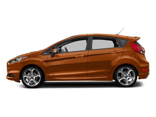 Orange Spice Metallic Tri-Coat 2018 Ford Fiesta Pictures Fiesta ST Hatch photos side view