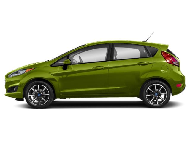 Outrageous Green Metallic Tinted Clearcoat 2018 Ford Fiesta Pictures Fiesta SE Hatch photos side view