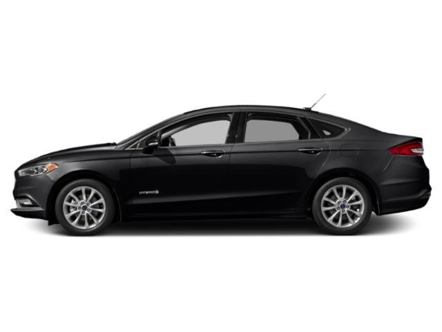 Shadow Black 2018 Ford Fusion Hybrid Pictures Fusion Hybrid SE FWD photos side view
