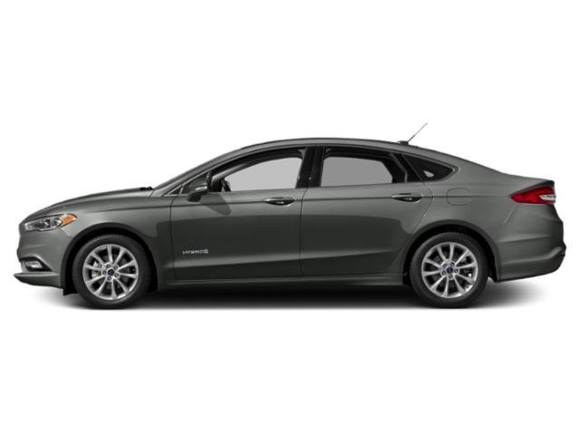 Magnetic Metallic 2018 Ford Fusion Hybrid Pictures Fusion Hybrid SE FWD photos side view