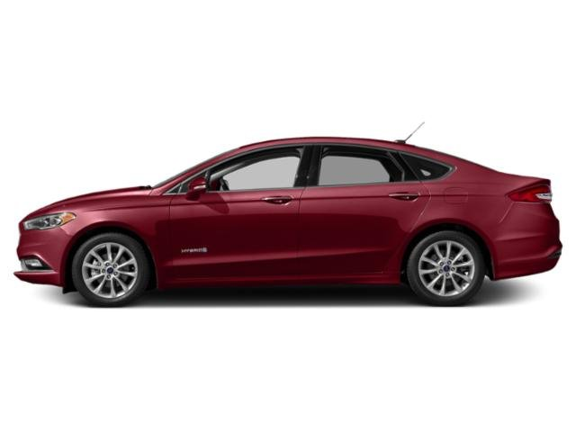 Ruby Red Metallic Tinted Clearcoat 2018 Ford Fusion Hybrid Pictures Fusion Hybrid SE FWD photos side view