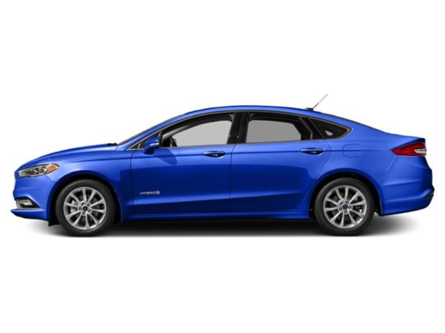 Blue Metallic 2018 Ford Fusion Hybrid Pictures Fusion Hybrid SE FWD photos side view