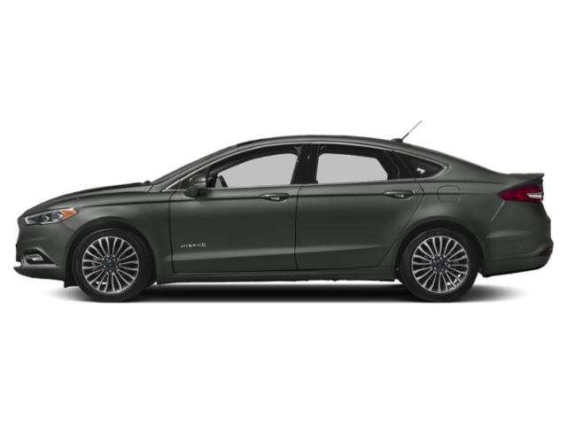 Magnetic Metallic 2018 Ford Fusion Hybrid Pictures Fusion Hybrid Platinum FWD photos side view