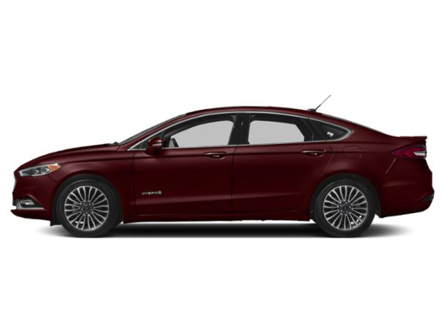 Burgundy Velvet Metallic Tinted Clearcoat 2018 Ford Fusion Hybrid Pictures Fusion Hybrid Platinum FWD photos side view