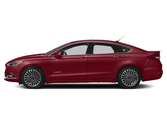 Ruby Red Metallic Tinted Clearcoat 2018 Ford Fusion Hybrid Pictures Fusion Hybrid Platinum FWD photos side view