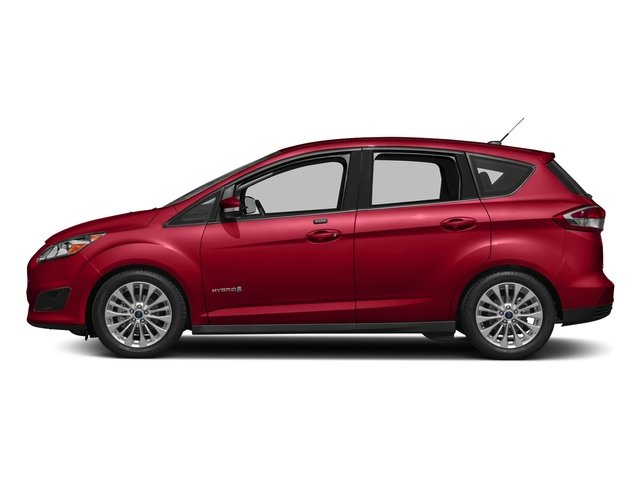 Hot Pepper Red Tinted Clearcoat 2018 Ford C-Max Hybrid Pictures C-Max Hybrid SE FWD photos side view