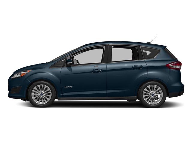 Blue Metallic 2018 Ford C-Max Hybrid Pictures C-Max Hybrid SE FWD photos side view