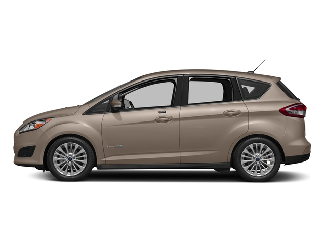 White Gold Metallic 2018 Ford C-Max Hybrid Pictures C-Max Hybrid SE FWD photos side view