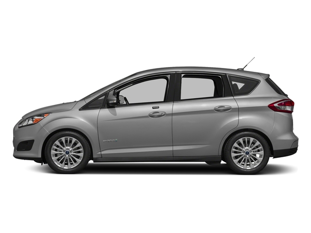 Ingot Silver Metallic 2018 Ford C-Max Hybrid Pictures C-Max Hybrid SE FWD photos side view