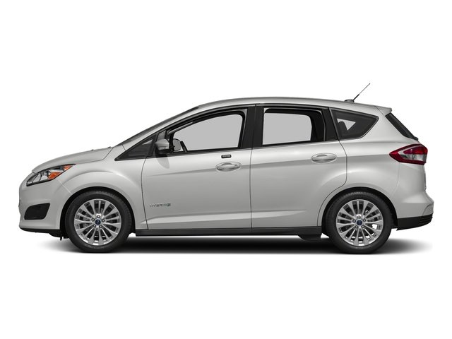 Oxford White 2018 Ford C-Max Hybrid Pictures C-Max Hybrid SE FWD photos side view