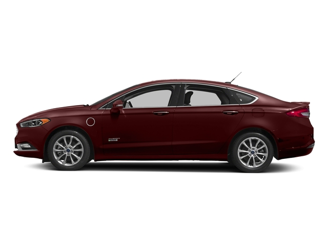 Burgundy Velvet Metallic Tinted Clearcoat 2018 Ford Fusion Energi Pictures Fusion Energi Titanium FWD photos side view