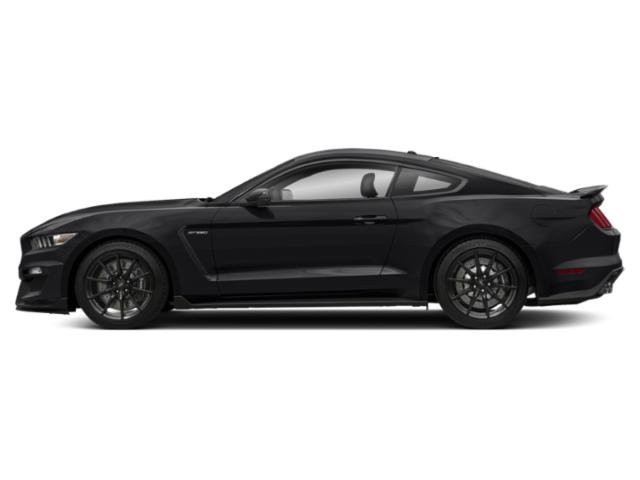 Shadow Black 2018 Ford Mustang Pictures Mustang Shelby GT350 Fastback photos side view