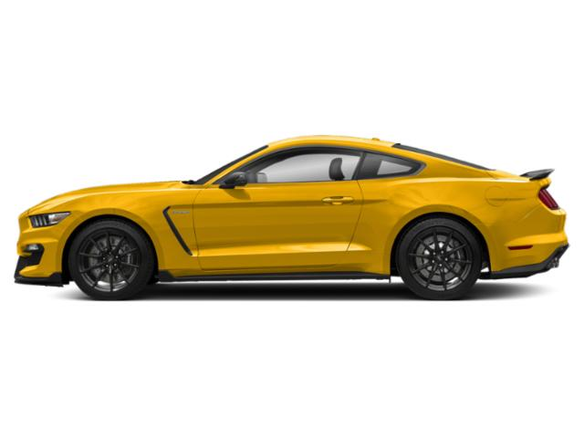 Triple Yellow Tri-Coat 2018 Ford Mustang Pictures Mustang Shelby GT350 Fastback photos side view