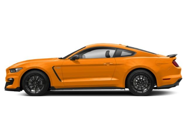 Orange Fury Metallic Tri-Coat 2018 Ford Mustang Pictures Mustang Shelby GT350 Fastback photos side view