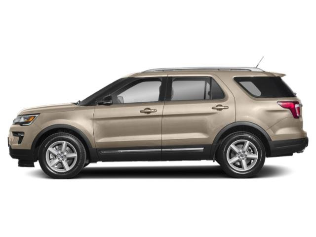Platinum Dune Metallic Tri-Coat 2018 Ford Explorer Pictures Explorer Limited 4WD photos side view
