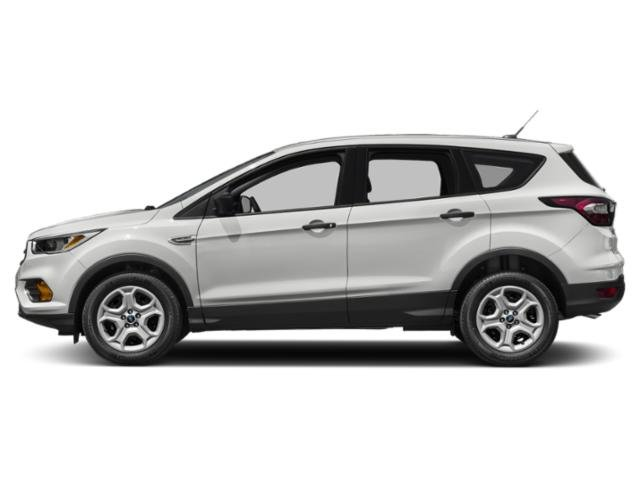 Oxford White 2018 Ford Escape Pictures Escape SEL 4WD photos side view
