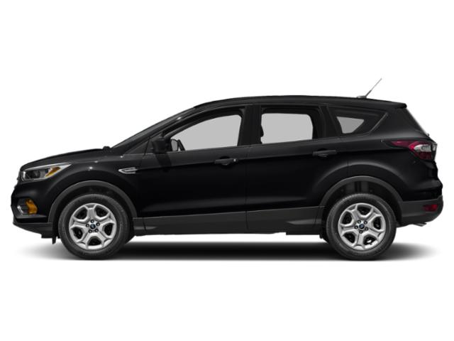 Shadow Black 2018 Ford Escape Pictures Escape SEL 4WD photos side view