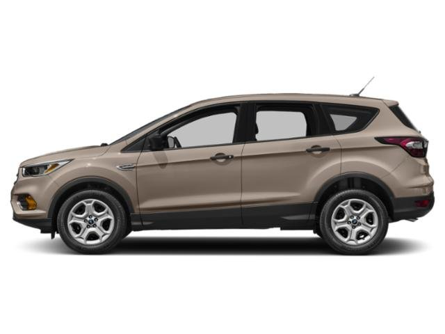 White Gold Metallic 2018 Ford Escape Pictures Escape SEL 4WD photos side view