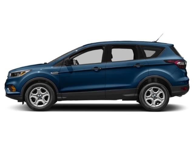 Lightning Blue Metallic 2018 Ford Escape Pictures Escape SEL 4WD photos side view