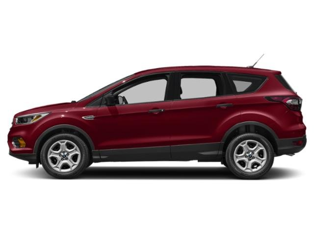 Ruby Red Metallic Tinted Clearcoat 2018 Ford Escape Pictures Escape SEL 4WD photos side view