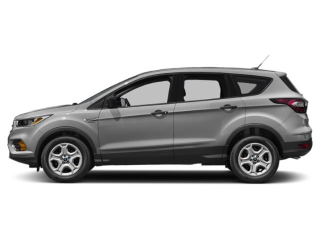 Ingot Silver Metallic 2018 Ford Escape Pictures Escape SEL 4WD photos side view