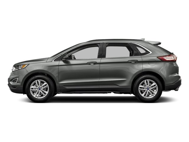 Magnetic Metallic 2018 Ford Edge Pictures Edge SE AWD photos side view