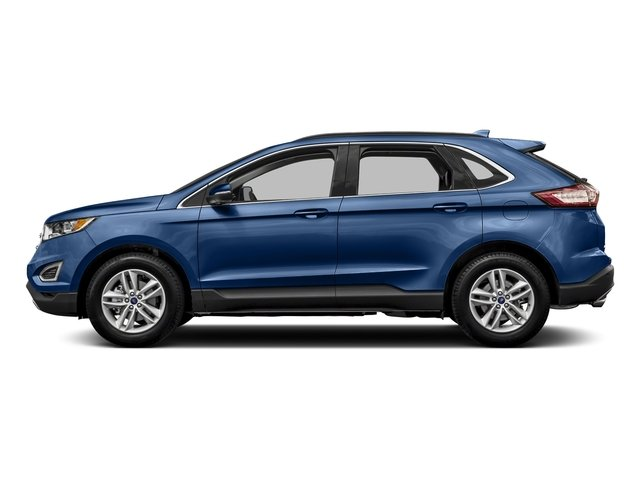 Lightning Blue Metallic 2018 Ford Edge Pictures Edge Utility 4D SEL AWD I4 Turbo photos side view