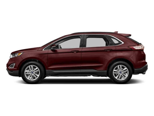 Burgundy Velvet Metallic Tinted Clearcoat 2018 Ford Edge Pictures Edge Utility 4D Titanium 2WD V6 photos side view