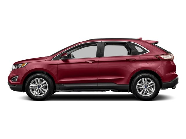 Ruby Red Metallic Tinted Clearcoat 2018 Ford Edge Pictures Edge Utility 4D SEL AWD I4 Turbo photos side view