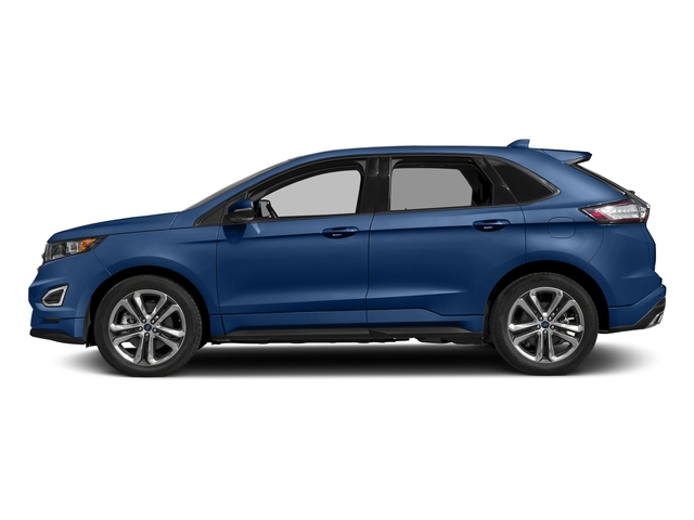 Lightning Blue Metallic 2018 Ford Edge Pictures Edge Sport AWD photos side view